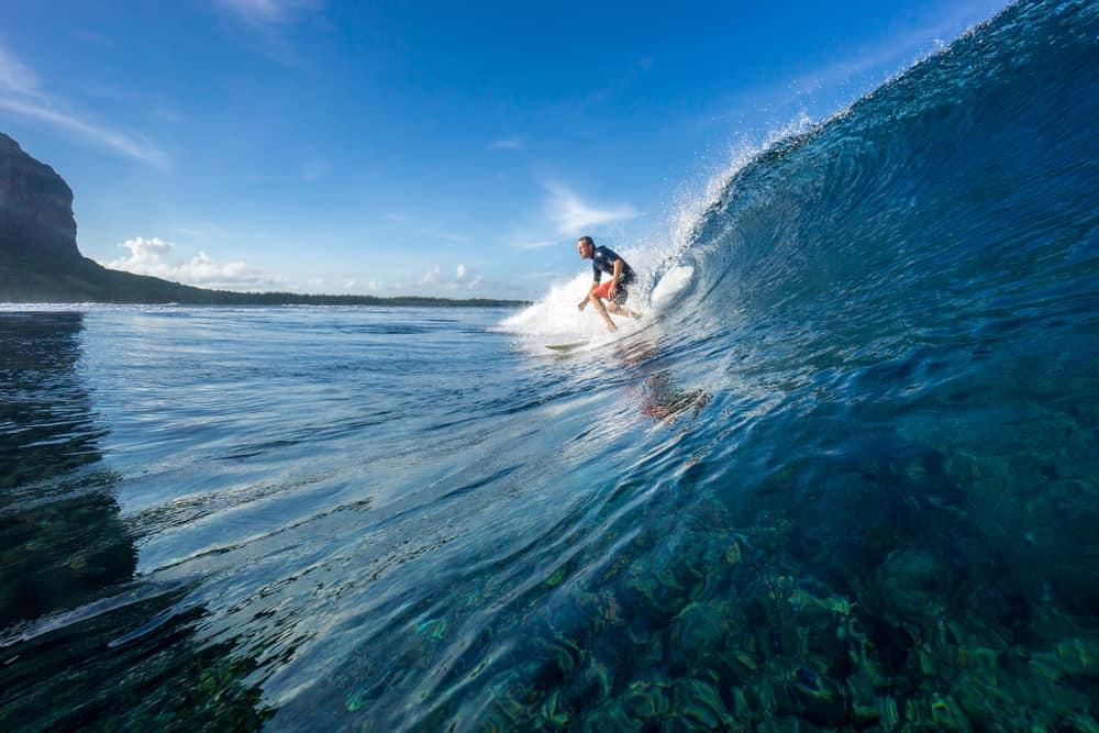 Nazaré i Portugal er et mekka for surfere