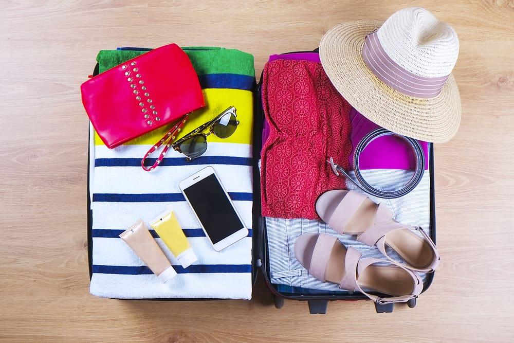 Pak rejsekufferten