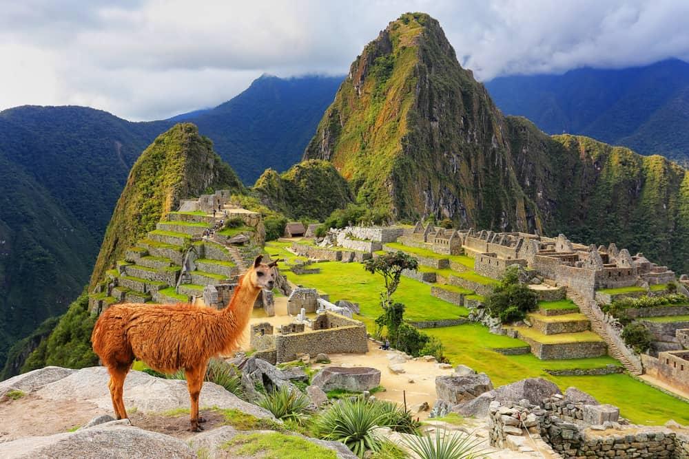 Machu Picchu i Peru