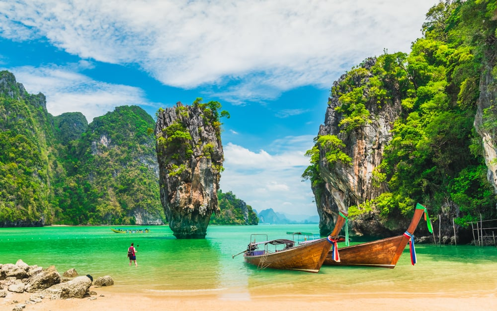 James Bond Island - Phuket i Thailand