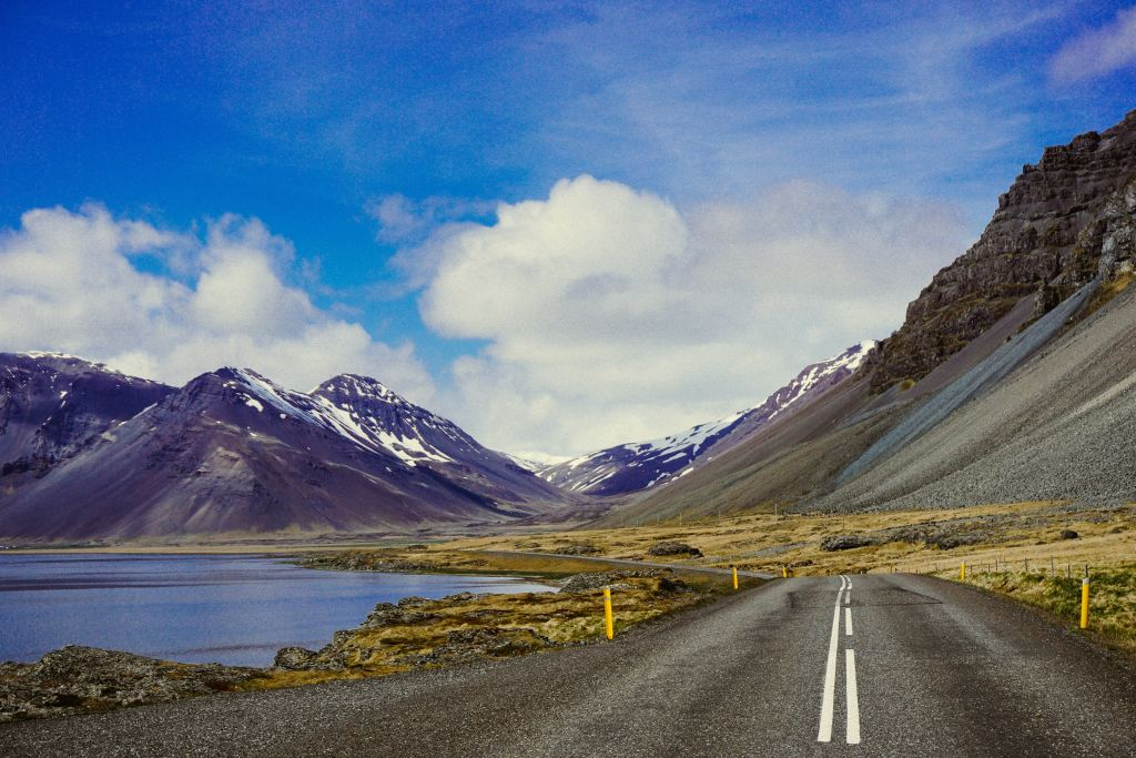 Road in Iceland, travel