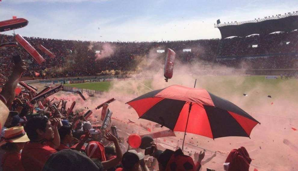 South America - football, atmosphere - travel