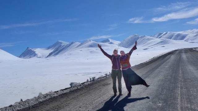 Kyrgyzstan - mountains, road trip, snow - travel