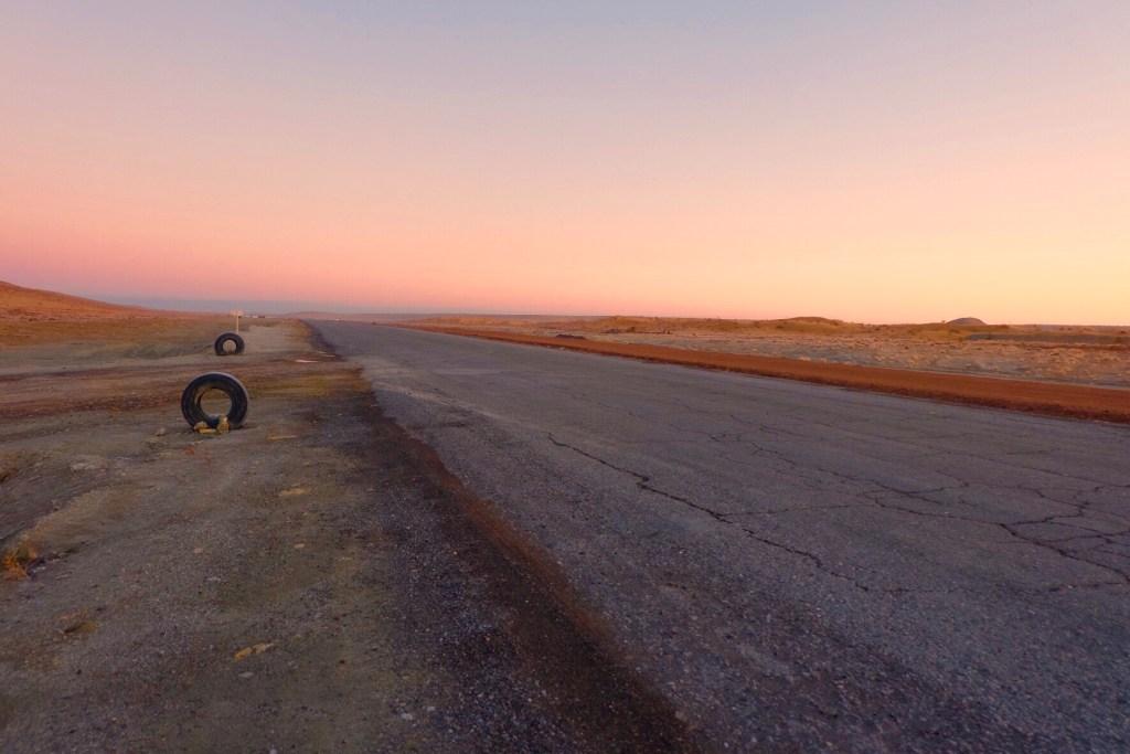 Turkmenistan - hovedvej - rejser