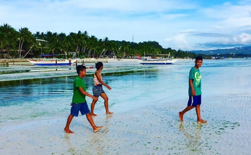 Filippinerne - strand, personer - rejser