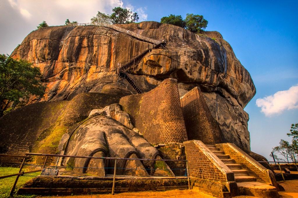 श्रीलंका - सिगिरिया-रॉक-किले- यात्रा