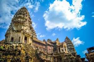 Cambodja - Angkor Wat, tempel - rejser