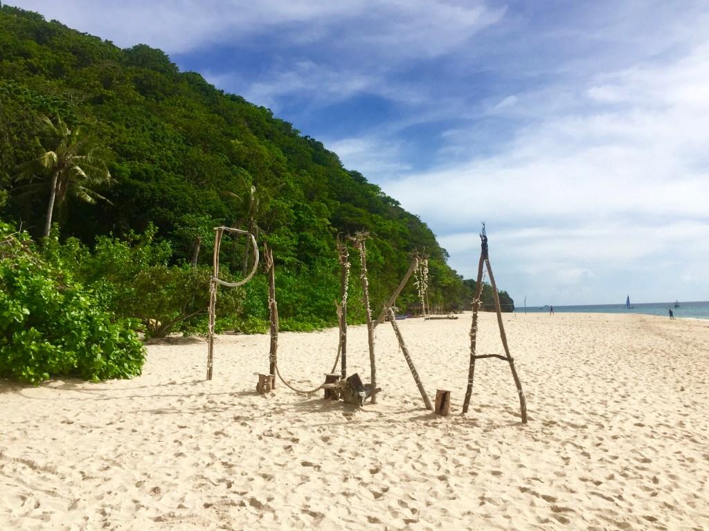 Boracay, Puka, strand - rejser