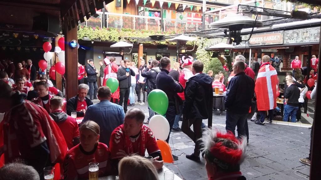Irland - Dublin, fanfest - fodboldrejse - rejser