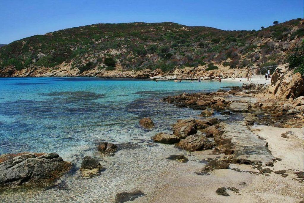 Sardinien Isola dell'Asinara Strand Rejser