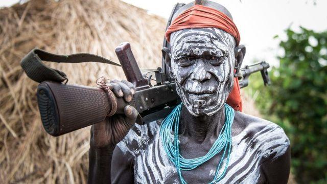 Ethiopie - Mursi - Peuple tribal - Voyage