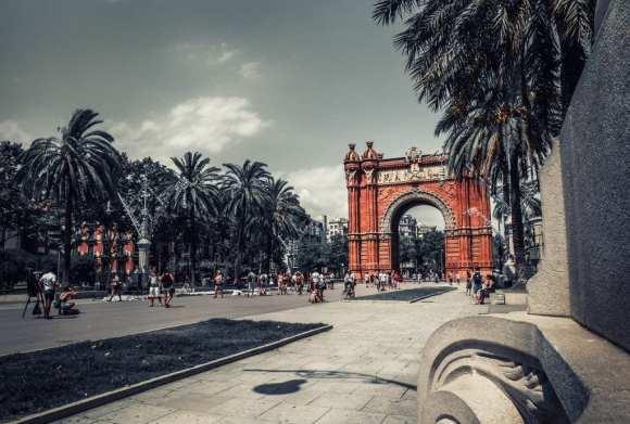 Spanien - Barcelona, Arc de Triomf - Reisen - Reisen nach Barcelona