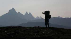 Backpacker, hiker, bjerge - rejser