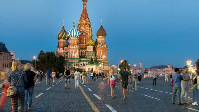 Russia - Moscow, Red Square, cathedral - travel