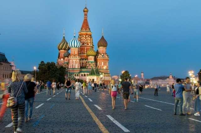 Rusland - Moskva, Røde Plads, katedral - rejser