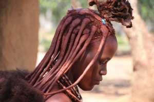 Namibia - himba, kvinde - rejser