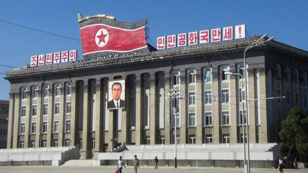 Nord-Korea - Pyongyang, Kim Il Sung Square - reise