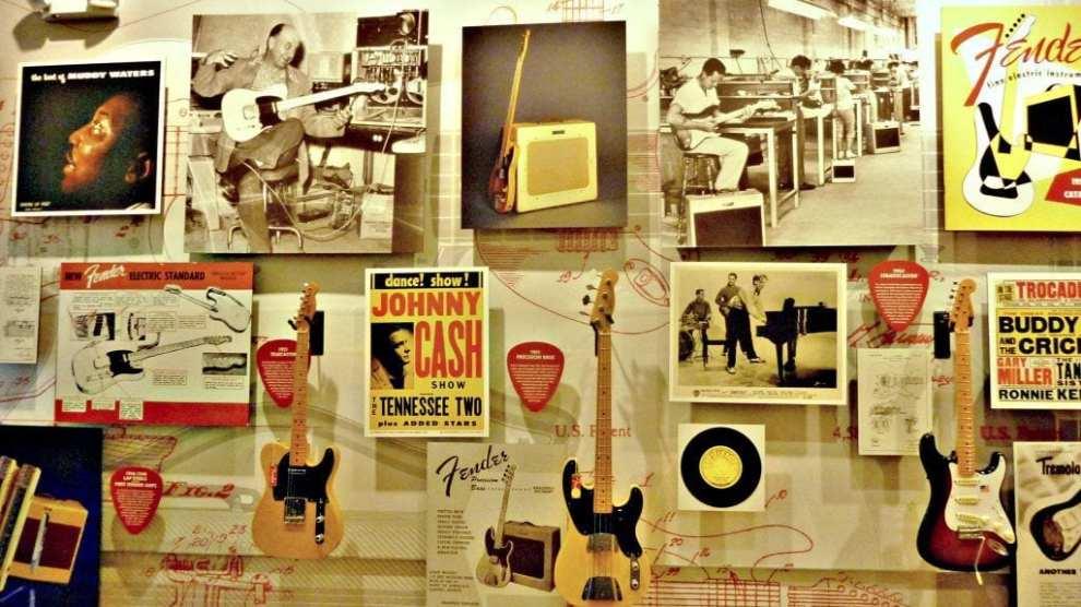 USA - Fenderfabrikken