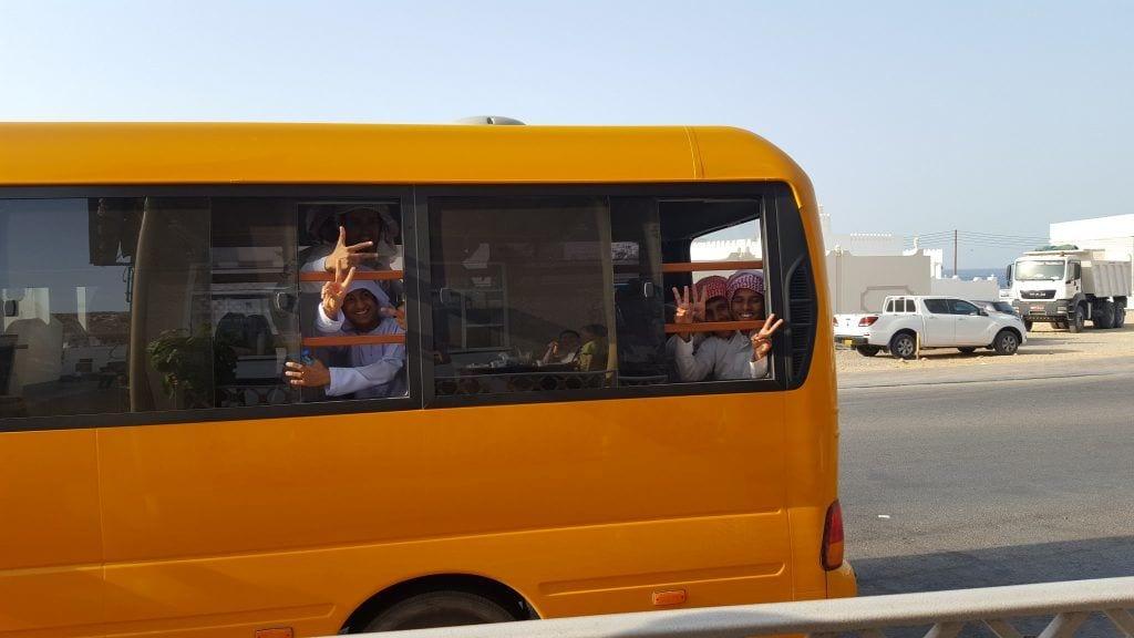Oman skolebus rejser
