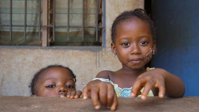 Barn - Afrika