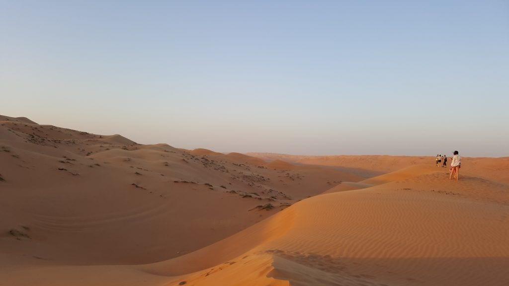 Oman - Wahiba Sands ørkenen