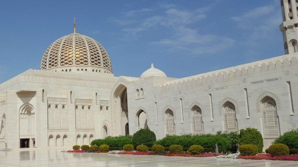 Oman - Sultan Qaboos Grand Mosque rejser moske