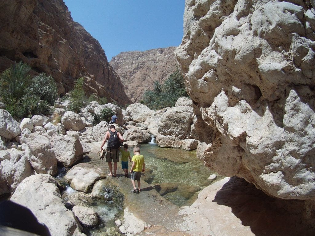 Oman - Wadi Shab rejser
