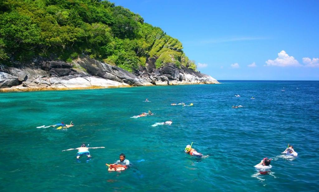 Koh Surin - Hav - snorkle - rejser