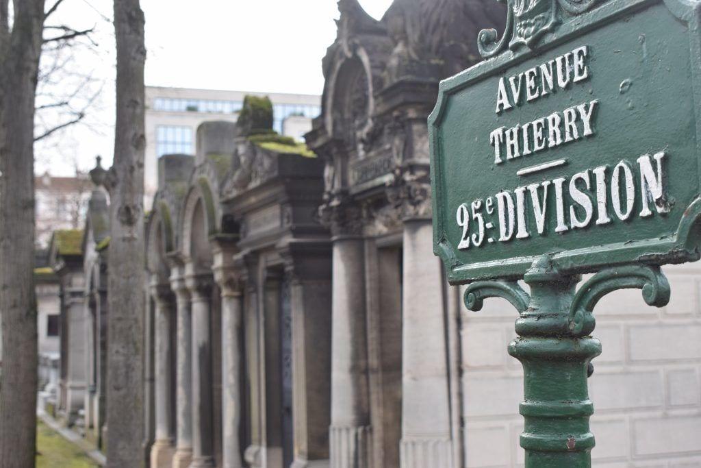 Frankrig - Paris, Montparnasse kirkegård - rejser