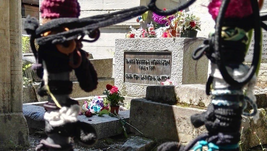 Frankrig-Paris-Pere-Lachaise-Jim-Morrison - rejser