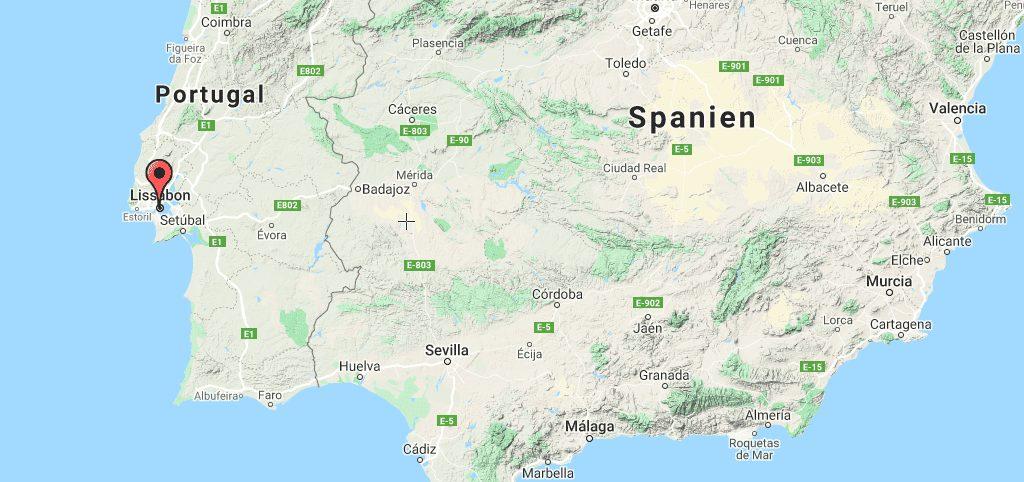 Portugal, Lissabon, Kort, rejser, kort over lissabon, kort over portugal, lissabon kort, portugal kort, lisbon map, portugal kort