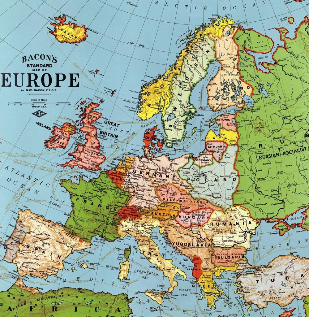 מפת אירופה - מפת אירופה - מפת אירופה - נסיעות - אטלס - מפת האטלס - מפת אירופה - מפת אירופה