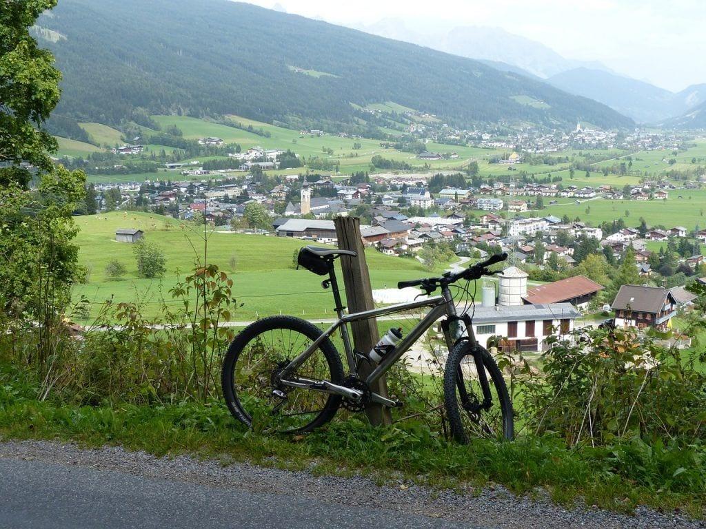 Østrig - mountainbike - rejser