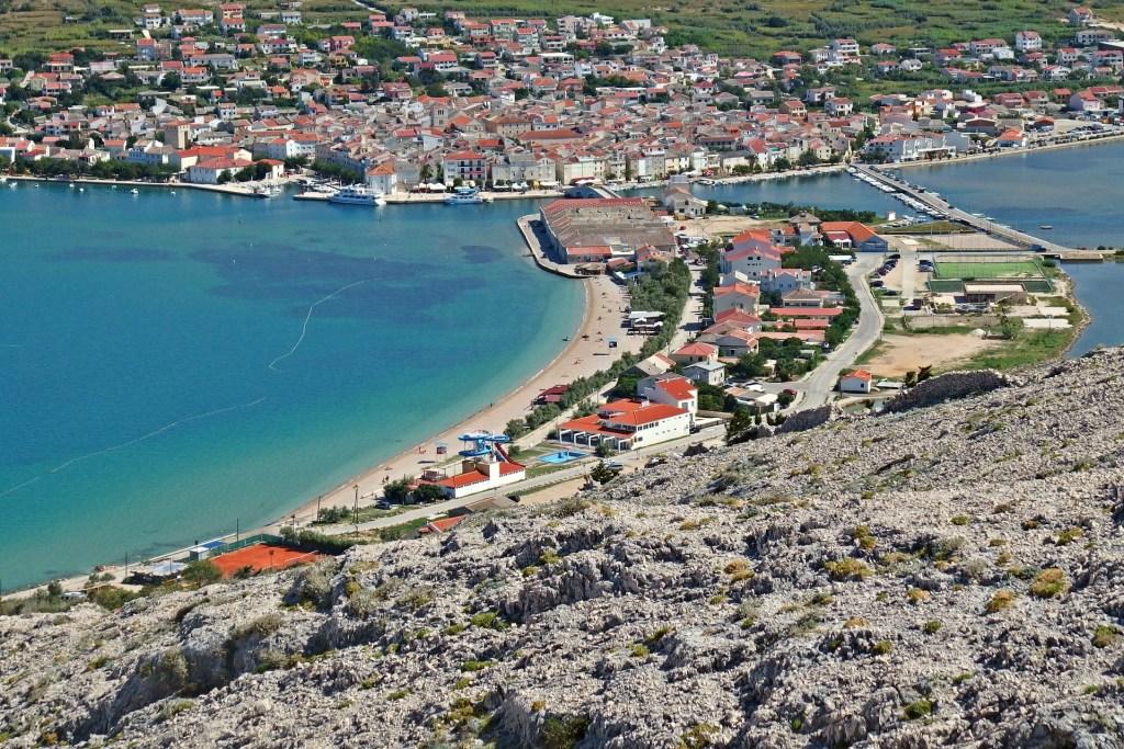 Europa Kroatien Pag Rejser