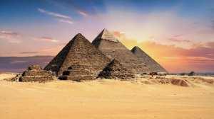 Egypten - Giza - pyramiderne