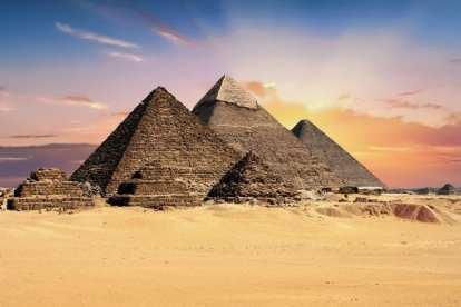 Egypten - Giza - pyramiderna