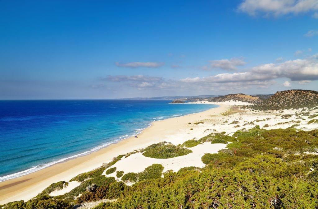 Cipro del Nord - viaggio - mappa - vacanza - l'acqua di balneazione più pulita del Mediterraneo