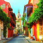 Kólumbía - Cartagena - borg - ferðalög