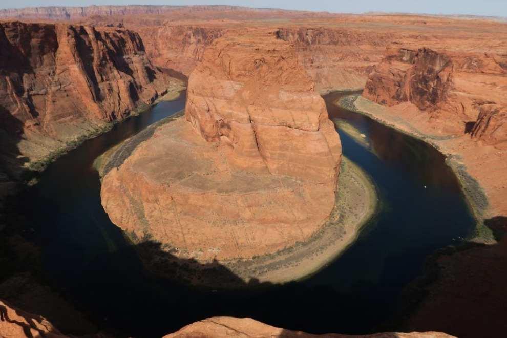संयुक्त राज्य अमेरिका - घोड़े की नाल नदी राष्ट्रीय उद्यान - यात्रा