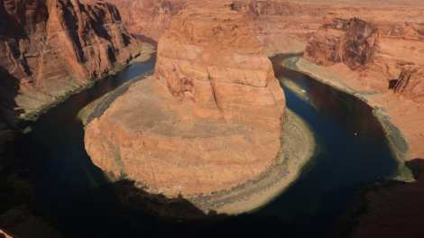 USA - horseshoe bend river national park - travel