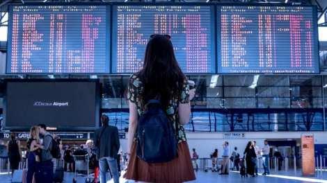 lufthavn - afgang ankomst - rejser