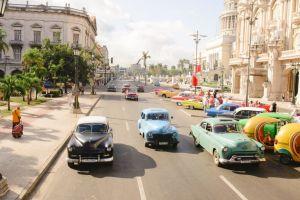 Havanna - Kuba - bilar - resa