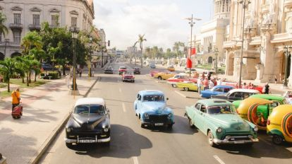 Havana - Cuba - biler - rejser