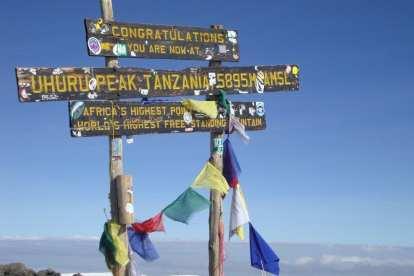 Tanzanie - Kilimandjaro, signe - voyage