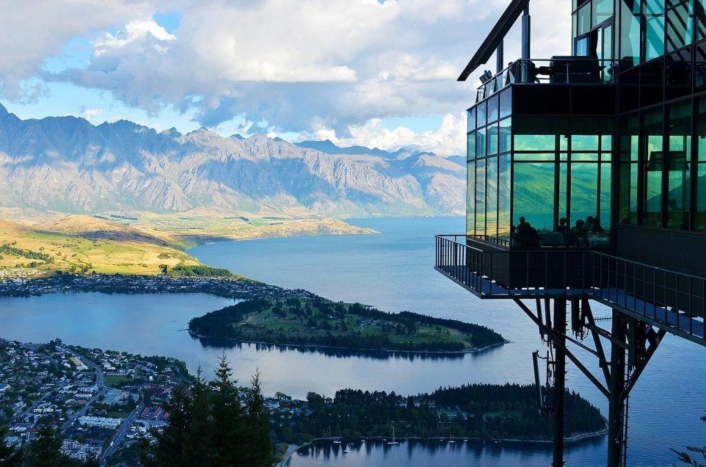 New Zealand - bjerge sø natur - rejser