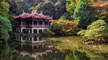 Japan - tempel natur sø - rejser