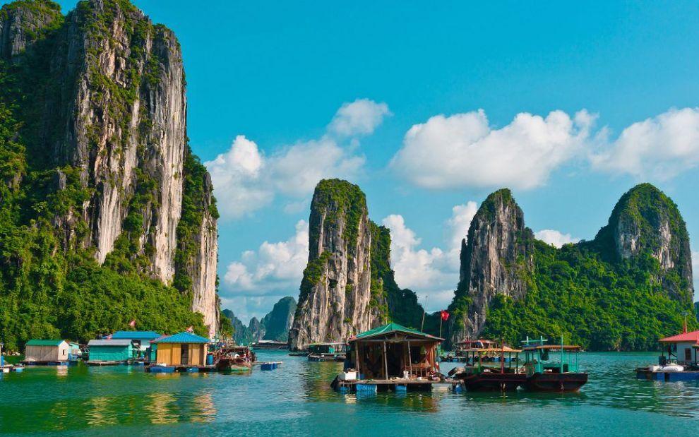 Vietnam Halong Bay Mountains Travel