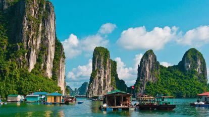 Vietnam Halong Bay Bjerge Rejser