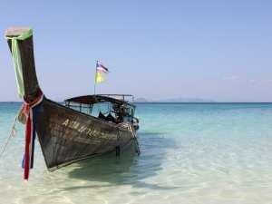Båd - Thailand -Rejser