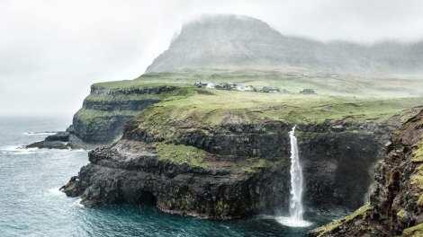 Quần đảo Faroe du lịch Gasadalur